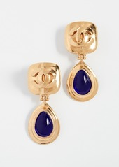 What Goes Around Comes Around Chanel Dangling Earrings
