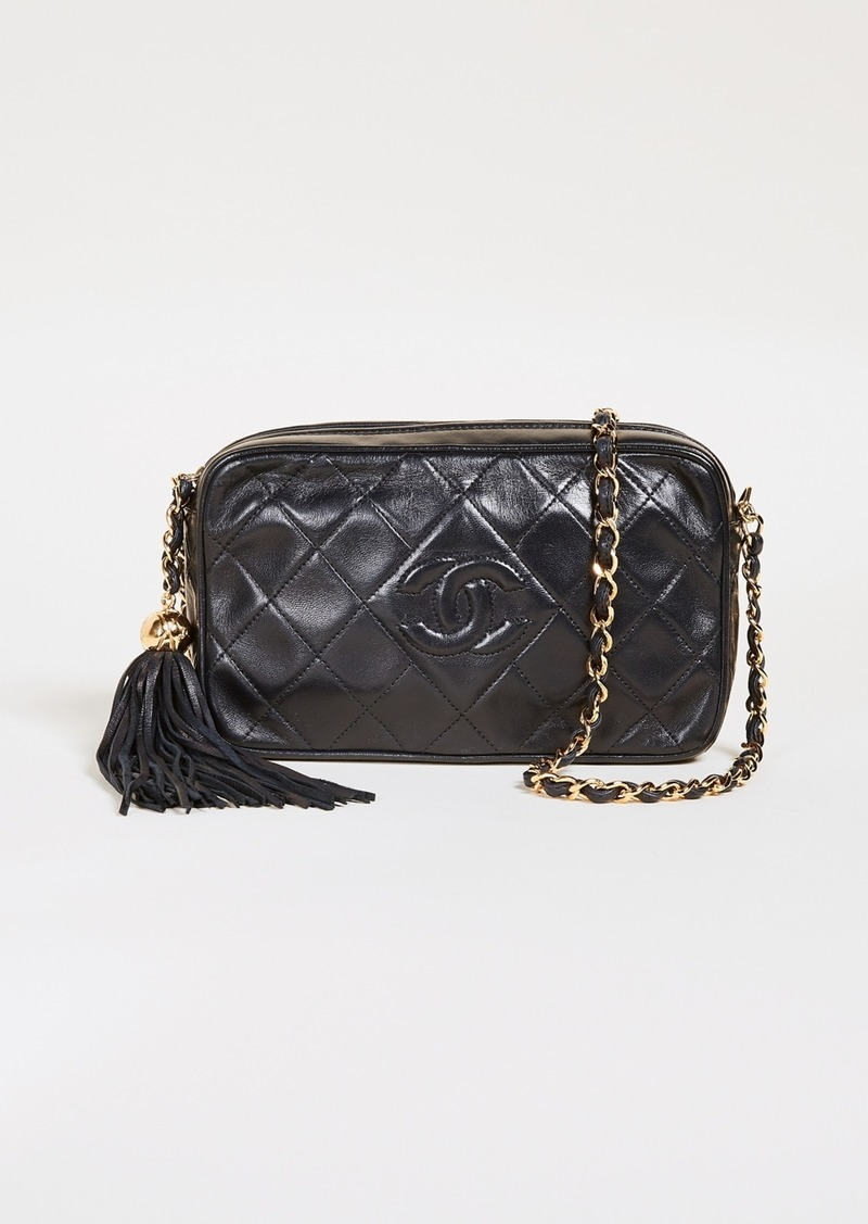 3e83a52326c What Goes Around Comes Around Chanel Diamond Camera Bag (Previously Owned)