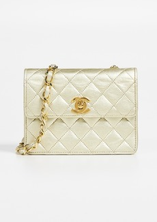 What Goes Around Comes Around Chanel Half Flap Micro Mini Bag