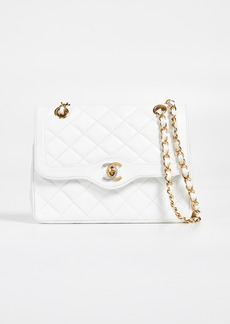 What Goes Around Comes Around Chanel Lamb Small Half Flap