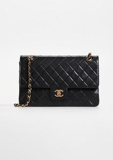 "What Goes Around Comes Around Chanel Lambskin 11 Half Flap Bag"""
