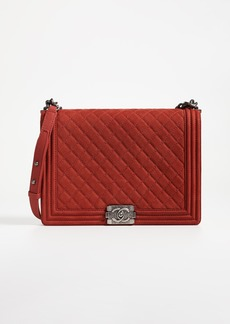 What Goes Around Comes Around Chanel Large Boy Bag