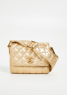 What Goes Around Comes Around Chanel Metallic Shoulder Mini Bag
