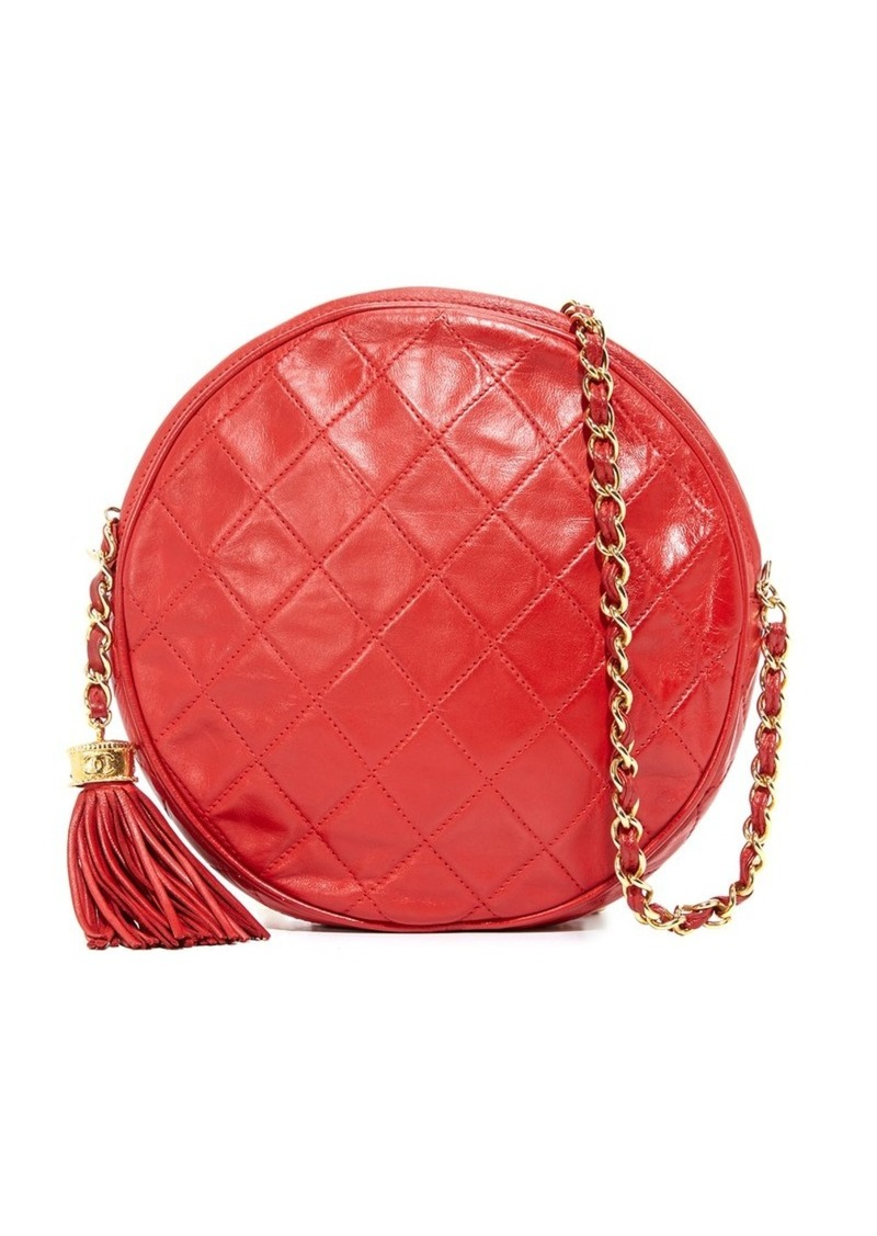 253bdb11b2e1 What Goes Around Comes Around Chanel Round Shoulder Bag (Previously Owned)
