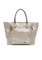 What Goes Around Comes Around Chloe Metallic Eclipse Tote (Previously Owned)