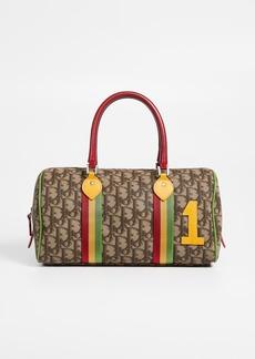 What Goes Around Comes Around Dior Brown Rasta Boston Bag