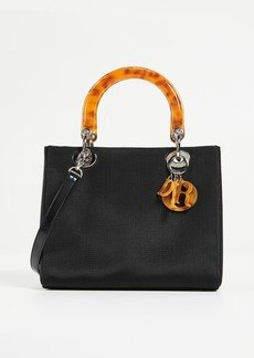 What Goes Around Comes Around Dior Canvas Lady Dior Bag