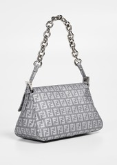 ... What Goes Around Comes Around Fendi Grey Zucchino Mamma Mini Bag ... e4cb36a0caef0