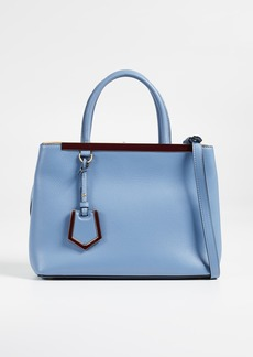 What Goes Around Comes Around Fendi Leather 2Jours Petite Bag