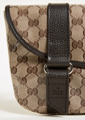 602b28d31920 ... What Goes Around Comes Around Gucci Canvas Fanny Pack (Previously Owned)