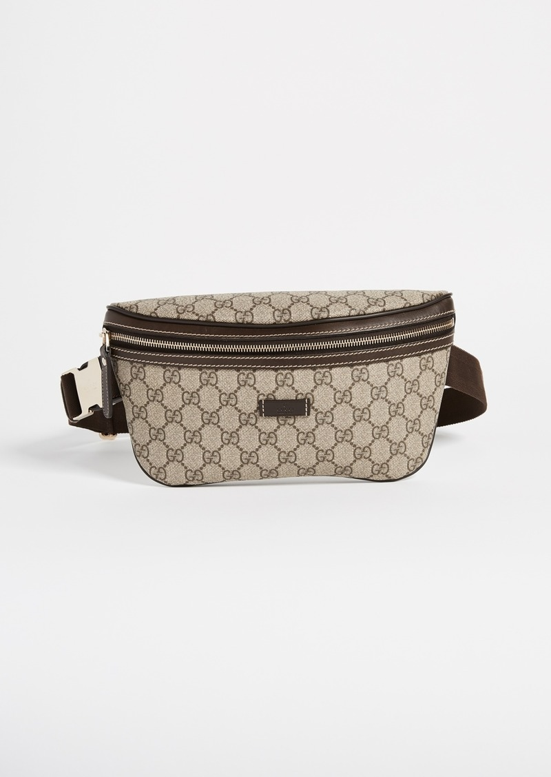 2bcfadd43a13 What Goes Around Comes Around Gucci Coated Canvas Waist Pouch (Previously  Owned)