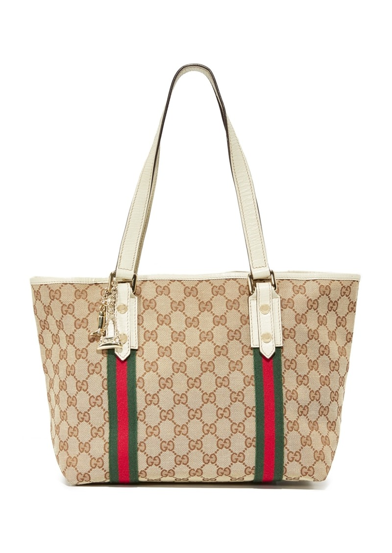 96d042025255 What Goes Around Comes Around Gucci Jolicoeur Tote (Previously Owned)