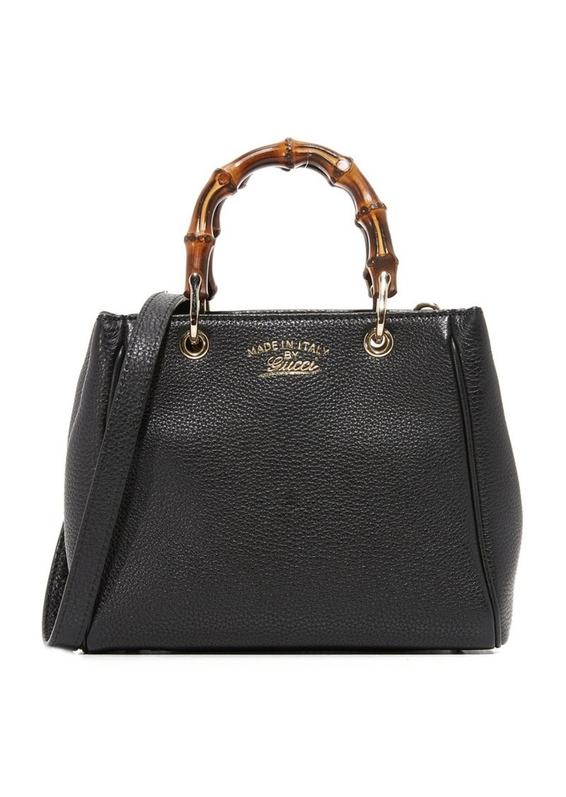 f12a3e76cc8 What Goes Around Comes Around Gucci Mini Bamboo Tote (Previously Owned)