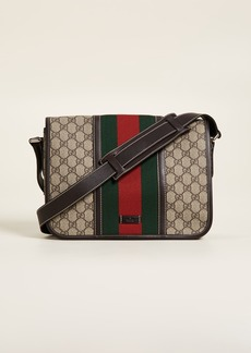 What Goes Around Comes Around Gucci Web Messenger Bag