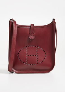 What Goes Around Comes Around Hermes Box Evelyne Bag