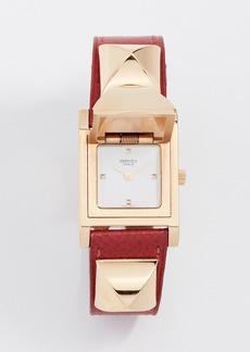 What Goes Around Comes Around Hermes Courchevel Medor Watch, 24mm