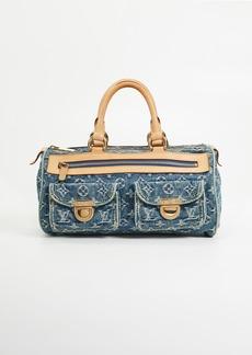 What Goes Around Comes Around Louis Vuitton Denim AB Neospeedy Bag