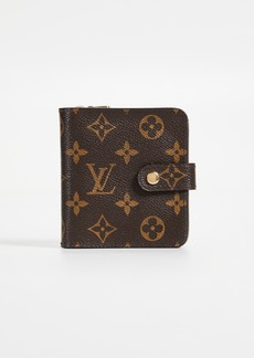 What Goes Around Comes Around Louis Vuitton Monogram AB Compact Zip Wallet