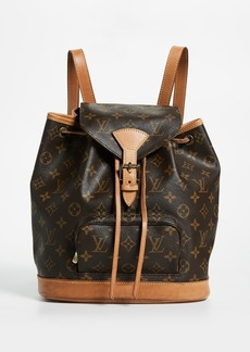 0b8107ffafe7 What Goes Around Comes Around Louis Vuitton Monogram Montsouris Backpack