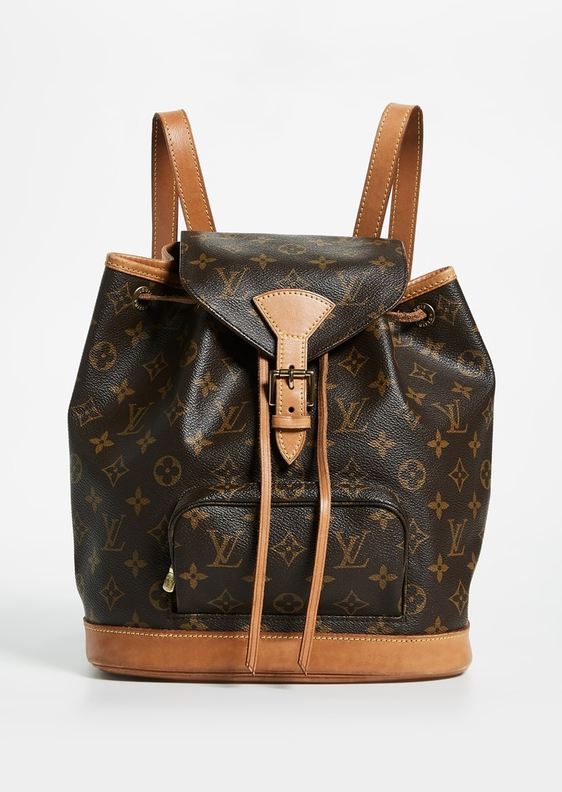 e8ae711dc70c ... What Goes Around Comes Around Louis Vuitton Monogram Montsouris Backpack  sale usa online b490f e29f2 ...