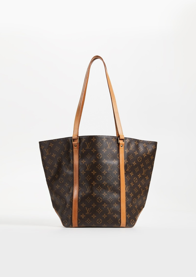 17ae724754a297 What Goes Around Comes Around Louis Vuitton Monogram Sac Shopping Tote Bag