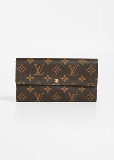 What Goes Around Comes Around Louis Vuitton Monogram Sarah Wallet
