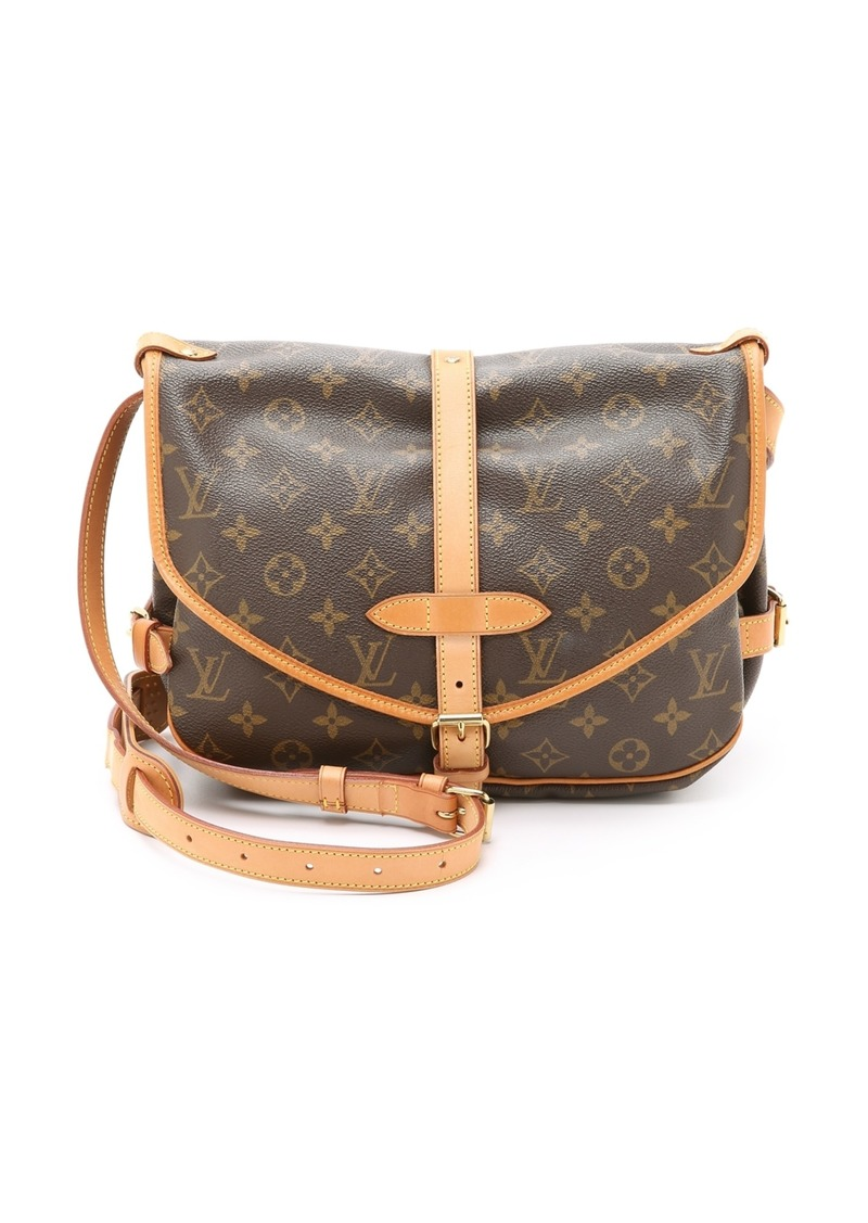 3b94a3f7ecf545 What Goes Around Comes Around Louis Vuitton Monogram Saumur 30 Bag  (Previously Owned)