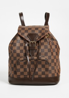 What Goes Around Comes Around Louis Vuitton Montsouris Damier Ebene Backpack