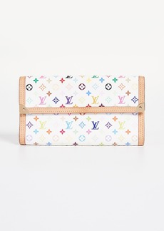 What Goes Around Comes Around Louis Vuitton Multicolore International Wallet