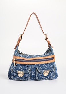 What Goes Around Comes Around LV Denim Baggy PM Bag