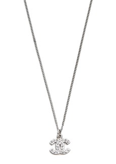 What Goes Around Comes Around Vintage Chanel Crystal CC Necklace