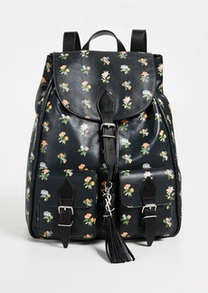 What Goes Around Comes Around YSL Festival Backpack