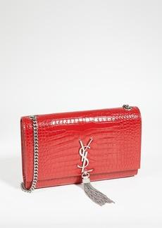 What Goes Around Comes Around YSL Red Embossed Kate Medium Bag