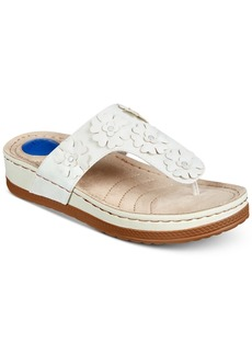 Cliffs by White Mountain Cardella Thong Wedge Sandals Women's Shoes