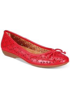 Cliffs by White Mountain Cate Perforated Flats Women's Shoes