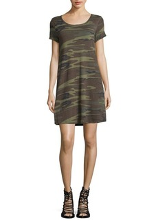 White Crow Camouflage T-Shirt Dress