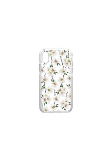 White Floral iPhone X Case