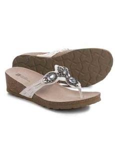 White Mountain Cardenia Sandals (For Women)