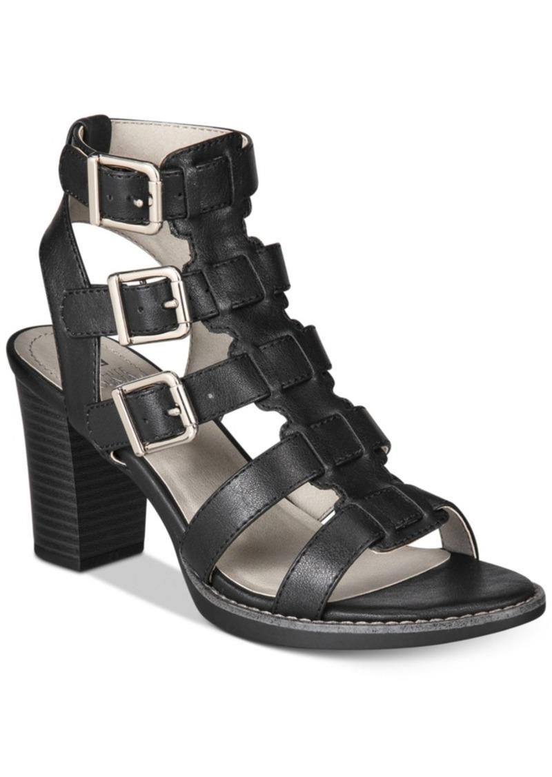 c5e8e325f57 WHIT White Mountain Gemmy Block-Heel Dress Sandals Women s Shoes