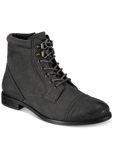 White Mountain Tifton Combat Boots, Created for Macy's Women's Shoes