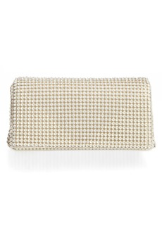 Whiting & Davis Crystal Triangle Clutch