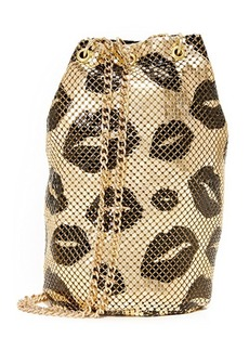 Whiting & Davis Kisses Bucket Bag