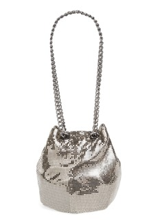 Whiting & Davis Mesh Bucket Bag