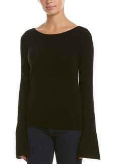 White + Warren Bell Sleeve Cashmere Sweater