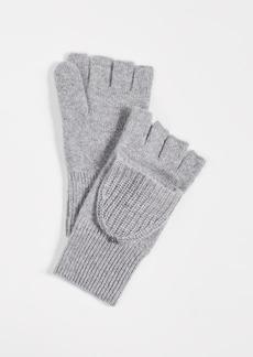 White + Warren Cashmere Thermal Pop Top Gloves