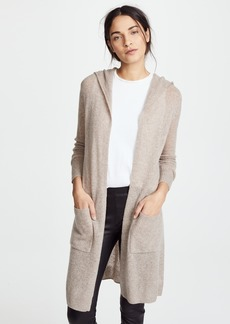 White + Warren Featherweight Cashmere Cardigan