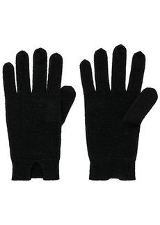 White + Warren Notch Detail Gloves