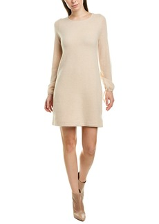 White + Warren Tie-Sleeve Sweaterdress