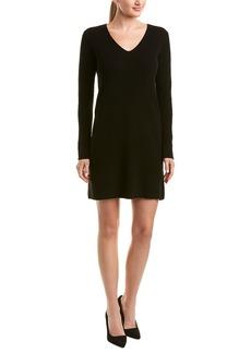 White + Warren Wool & Cashmere-Blend Sweater Dress