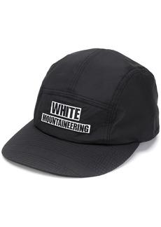 White Mountaineering embroidered logo baseball cap